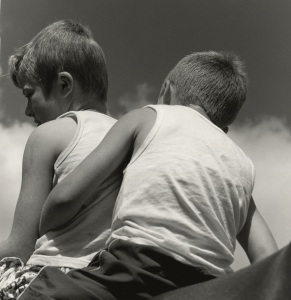 Brothers, 2010 Silver Gelatin Photograph